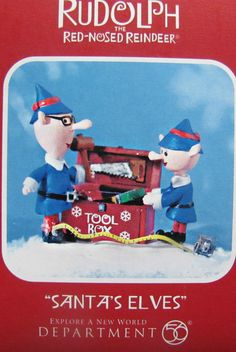 The elves from Rudolph the red nosed reindeer cartoon