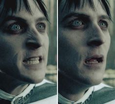 Robin Lord Taylor as Oswald Cobblepot a.k.a Penguin in Gotham.