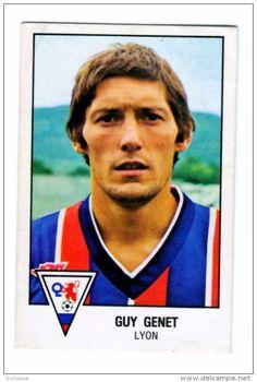 panini football 79 1979   OL Lyon Olympique Lyonnais Guy Genet  N° 88