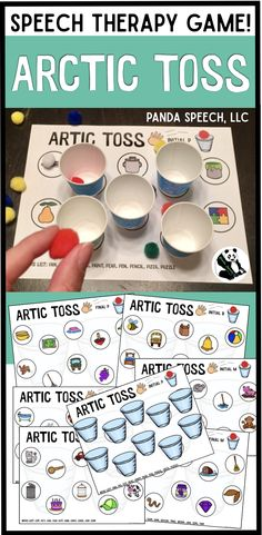 Fun for speech therapy sessions! Fun for speech therapy sessions! Preschool Speech Therapy, Speech Therapy Games, Speech Language Therapy, Speech And Language, Articulation Therapy, Articulation Activities, Speech Therapy Activities, Play Therapy Techniques, Speech Room