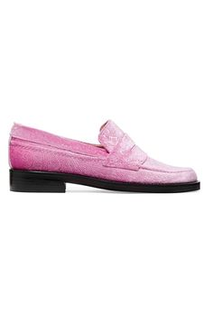 SHOP The MR Man Repeller Shoe Collection   The Alternative To Bare Feet Loafer, $425; at Net-A-Porter   Pink velvet   Fall / Winter 2016