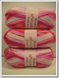 breiwol ~ Merry Go Round dk Strawberry 3141 | breiwol Merry go Round by Style Craft | Atelier KleurrijkVilt ~ Delft