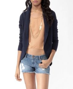 A must have for Fall!  Open Cardigan Sweater | FOREVER 21 - 2000029016
