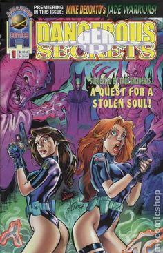 Danger comic books— issue 1