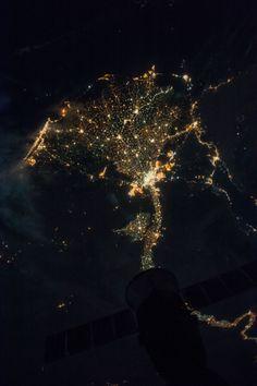 Egypt nightlights from ISS