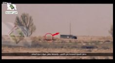 Footage shows member of Iraqi Mobilization forces from Peace Brigade setting a deadly trap for a so-called Islamic State group suicide bombers.
