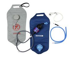 Sawyer Products Complete Dual Bag Micron Water Purifier System, 4 Liters Each SP194 0.02