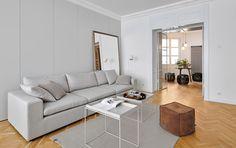 Vzhled interiéru je inspirovaný prvky skandinávského designu v kombinaci s dobovou architekturou padesátých a šedesátých let minulého století.