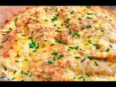 Esta receta de pechugas de pollo gratinadas es facilísima de preparar, con muy pocos ingredientes y sin apenas elaboración. Horchata, Fish And Seafood, Mashed Potatoes, Main Dishes, Chicken Recipes, Food And Drink, Low Carb, Turkey, Favorite Recipes
