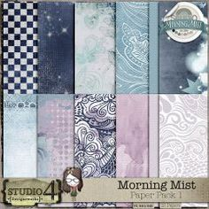 Morning Mist - Paper Pack 1