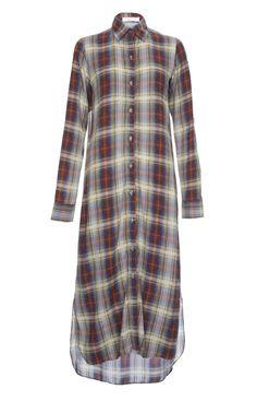 Aab UK Chequered Shirt Dress : Standard view