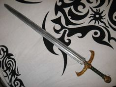 Spada #lps #larp #cosplay #grv #forgiadellupo #brenin #latex #weapon #lattice #armi #spada #sword