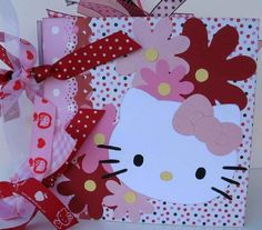 Hello Kitty Scrapbook - since I have the Cricut Cart and all...