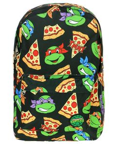 TMNT PIZZA BACKPACK Cute Backpacks, Backpack Purse, Cute Bags, Teenage Mutant Ninja Turtles, Tmnt, Vera Bradley Backpack, School Bags, Purses And Handbags, Purses