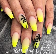60 Gorgeous Natural Yellow Acrylic Nails Design Spring & Summer in 2019 Matte Yellow acrylic coffin nails design, Yellow gel nails design, Pastel yellow nails coffin, Natural spring nails design, Summer nails d Neon Yellow Nails, Yellow Nails Design, Yellow Nail Art, Neon Nails, Pastel Yellow, Matte Nails, Neon Nail Art, Acrylic Nails Yellow, Stiletto Nails