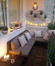 Allibert Nevada Low - Brązowy - Narożnik tarasowy na wąskim i małym balkonie w bloku Interior Design Living Room, Interior Decorating, Decorating Ideas, Home Hacks, Room Inspiration, Balcony, Room Decor, House Design, Patio