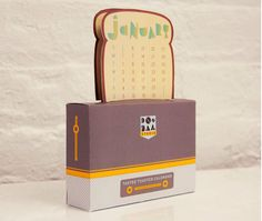 30 Cool, Creative + Quirky Calendars for 2013 via Brit + Co.