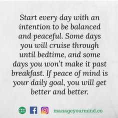 Make peace your goal  #motivationalmonday #motivation #inspiration #health #mentalhealth #mentalfitness #psychology #love