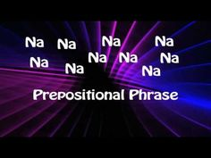 Download this video, song and worksheets!  Visit http://grammarheads.com/ for more educational rock and roll.  Grammarheads rock video to help teach about prepositions and prepositional phrases.