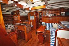 Sailing Yacht Interior