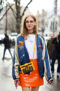 La Femme Fatale/ Paris Fashion Week / Chiara Ferragni look/ www.lafemmefatale.mx
