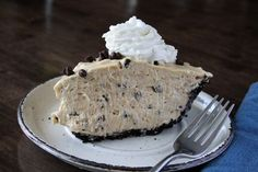 Chocolate Chip Peanut Butter Pie - Just like Original Oyster House.
