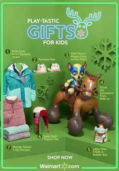 Find the gifts they've wished for all year. Dream-come-true gifts at great prices at Walmart. Paw Patrol Jacket, 1st Birthday Party For Girls, Sister Birthday, True Gift, Pony Rides, Little Tikes, Diy Christmas Gifts, Christmas Tree, Baby Shower Parties