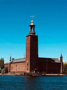 The Stockholm City Hall. Stockholm City, Stockholm Sweden, Gothenburg, City Photography, Town Hall, Great View, Willis Tower, Empire State Building, Facade