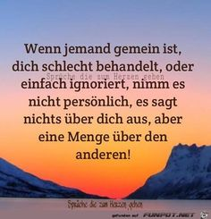 funpot: If someone is mean.jpg by Floh – Motivational Girly Quotes, True Quotes, Words Quotes, Sayings, Tips To Be Happy, German Quotes, Susa, Love Live, True Words