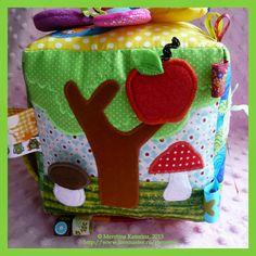 Такой кубик заказала одна молодая женщина, которая недавно стала тетей. Кубик планировался на рождение Малышки  и основное условие ...