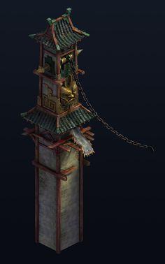 ArtStation - Tower, wan kang