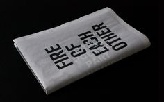Fire of Each Other2012An artist book of Robert Montgomery, a Scottish artist who work anonymously with poetic words and melancholic Post-Situationist tradition. He hijacks advertising billboards and putting up his poems in order to provide a reflective…