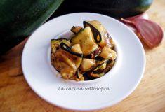 Zucchine alla Poverella - La Cucina Sottosopra