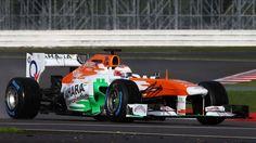 2013 Force India VJM06 Paul di Resta