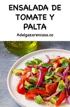 10 recetas de ensaladas que no llevan lechuga y ayudan a perder peso rápido - Adelgazar en casa Vegan Vegetarian, Vegetarian Recipes, Healthy Recipes, Healthy Food, Tuna Salad, Green Beans, Salsa, Vegetables, Frijoles