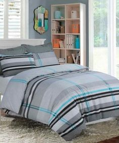 Chelsea Printed Multi Duvet Quilt Cover Bedding Set – Linen and Bedding Duvet Bedding, Grey Bedding, Luxury Bedding, Linen Bedding, Bedding Sets, Camo Bedding, King Duvet, Bed Linens, Luxury Linens