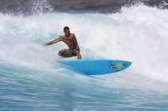 Surfer in Honolulu, Hawaii, USA.