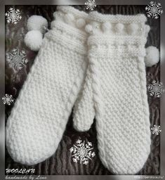 Knit Mittens, Knitted Hats, Hand Knitting, Knitting Patterns, Scarf Hat, Yarn Crafts, Lana, Knit Crochet, Gloves