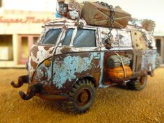 Post Apocalyptic Camper - 28mm - Fallout - Wargames