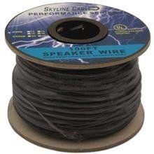 100ft 18 Gauge 4 Wire Speaker Cable, Paper Spool, Cl2 Ul - Black by Skyline. $24.99. SKL2502K 18ga 4-wire Speaker Cable, CL2 UL, 100ft on a sturdy paper spool