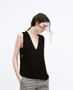 SODE CUT-OUT TOP-Woman-NEW THIS WEEK | ZARA United States