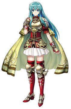 Eirika art in Fire Emblem Heroes <3