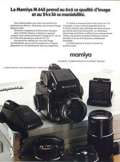 """""""Le Mamiya M645..."""" publié dans Photo, n°103, Avril 1976."""