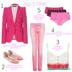 It's Breast Cancer Awareness Month so support it by wearing Pink!  #fureeekshow #fashion #top5anything #breastcancerawareness #pinktober #malaysia  *All images were taken from respective brands*