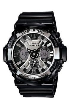 G-Shock 'X-Large' Dual Movement Watch, 55mm