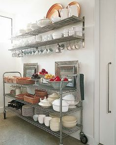 I adore shelving...and this shelving makes you look like a professional!