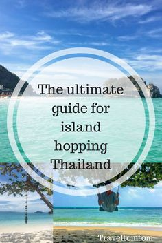 The ultimate guide for island hopping Thailand Island hopping Thailand is probably the most popular first big trip for young travellers. I can totally understand why a island hopping Thailand adventure is so extremely popular with people from all over the world, but to be honest I never wanted to write about the places to visit in Thailand cause there are already numerous articles out there about what to see in Thailand or top 10 places in Thailand.