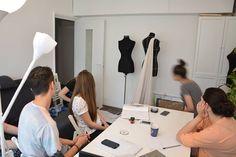 @Fashion teaching class teacher: Irina Ghizdeanu.