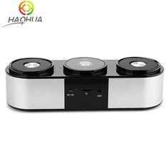 10W Mini Bluetooth Speaker Double Bass Diaphragm Soundbar Portable Wireless Loudspeaker Sound System 3D stereo Music Surround