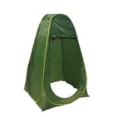 Toparchery Portable Pop Up Toilet Tent Camping Beach Changing Shower Privacy Shelter Army green -- Continue to the product at the image link.